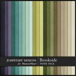 Brookside Plain Paper Pack-$3.99 (Jumpstart Designs)