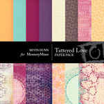 Tattered Love Paper Pack-$4.00 (Bevin Dunn)