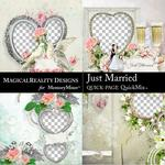 Just Married QuickPages 3-$3.99 (MagicalReality Designs)