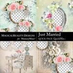 Just Married QuickPages 1-$3.99 (MagicalReality Designs)