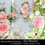 Just Married Edges Pack-$2.99 (MagicalReality Designs)