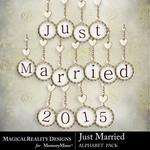 Just Married Alphabet Pack-$2.00 (MagicalReality Designs)
