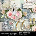 Just Married Combo Pack-$6.99 (MagicalReality Designs)