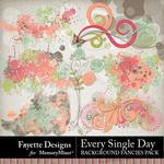 Every Single Day Background Fancies Pack-$3.99 (Fayette Designs)