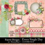 Every Single Day Clusters Pack-$2.80 (Fayette Designs)