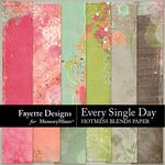 Every Single Day Hotmess Blends Paper Pack-$3.99 (Fayette Designs)
