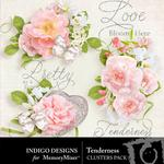 Tenderness Cluster Pack-$1.99 (Indigo Designs)