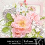 Tenderness Embellishment Pack-$2.99 (Indigo Designs)