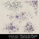 Passion for Purple Scatterz Pack-$1.99 (Lindsay Jane)
