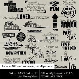 100 of my favorites vol medium
