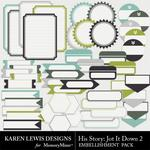 His Story Jot It Down 2-$1.99 (Karen Lewis)