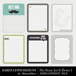 His Story Jot It Down 1-$1.99 (Karen Lewis)