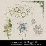 A Dogs Life Scatterz Pack-$1.99 (Lindsay Jane)