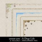 A Dogs Life Edges Pack-$1.99 (Lindsay Jane)