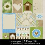 A Dogs Life Journal Cards-$1.99 (Lindsay Jane)