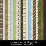A Dogs Life Paper Pack-$2.49 (Lindsay Jane)