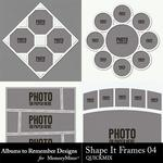 Shape It Frames 04 QuickMix-$3.49 (Albums to Remember)