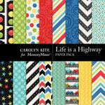 Life Is A Highway Paper Pack-$3.49 (Carolyn Kite)
