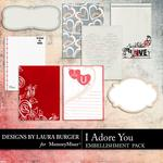 I Adore You Journal Pack-$2.49 (Laura Burger)