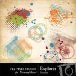 Explorer Stamps Pack-$1.99 (Fly Pixel Studio)