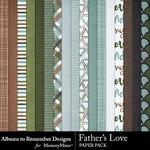 Fathers Love Paper Pack-$3.99 (Albums to Remember)