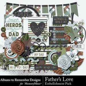 Fatherslove emb medium