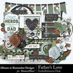 Fathers Love Embellishment Pack-$3.49 (Albums to Remember)