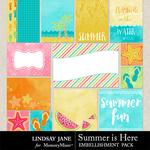 Summer is Here Journal Cards Pack-$1.99 (Lindsay Jane)
