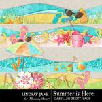 Summer is Here Borders Pack-$1.99 (Lindsay Jane)