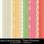 Sweet Summer ATR Paper Pack-$2.00 (Albums to Remember)