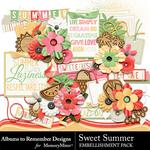 Sweet Summer ATR Embellishment Pack-$3.49 (Albums to Remember)