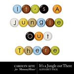 Its a Jungle Out There Alpha Pack 2-$3.99 (Carolyn Kite)