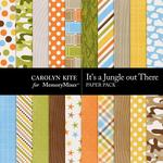 Its a Jungle Out There Paper Pack-$3.49 (Carolyn Kite)
