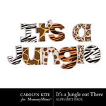 Its a Jungle Out There Alpha Pack 1-$3.99 (Carolyn Kite)