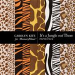 Its a Jungle Out There Print Paper Pack-$3.49 (Carolyn Kite)