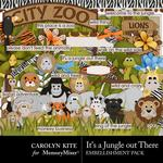 Its a Jungle Out There Embellishment Pack-$4.49 (Carolyn Kite)