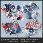 Family Fun and Fireworks Accents Pack-$3.99 (Jumpstart Designs)