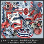 Family Fun and Fireworks Enhancements Pack-$3.99 (Jumpstart Designs)