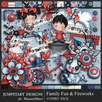 Family Fun and Fireworks Combo Pack-$3.99 (Jumpstart Designs)