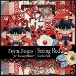Seeing Red Combo Pack-$5.60 (Fayette Designs)