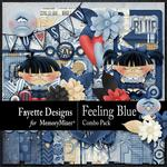 Feeling Blue Combo Pack-$5.60 (Fayette Designs)