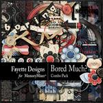 Bored Much? Combo Pack-$5.60 (Fayette Designs)
