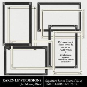Signature series frames vol 2 preview medium