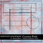 Country Pride Stitches Pack-$2.49 (Laura Burger)