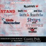 Country Pride WordArt Pack-$2.49 (Laura Burger)