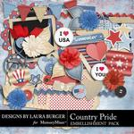Country Pride Embellishment Pack 2-$3.49 (Laura Burger)