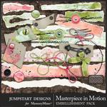 Masterpiece in Motion Torn Bits Pack-$2.80 (Jumpstart Designs)