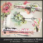 Masterpiece in Motion Cluster Pack-$2.80 (Jumpstart Designs)