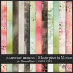 Masterpiece in Motion Blended Paper Pack-$3.99 (Jumpstart Designs)