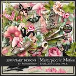 Masterpiece in Motion Embellishment Pack-$2.80 (Jumpstart Designs)